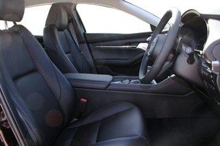 2020 Mazda 3 BP2SLA G25 SKYACTIV-Drive GT Jet Black 6 Speed Sports Automatic Sedan