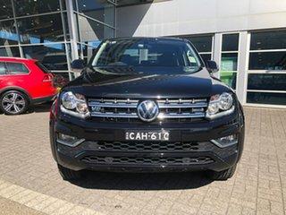 2019 Volkswagen Amarok 2H MY19 TDI550 4MOTION Perm Sportline Black 8 Speed Automatic Utility.