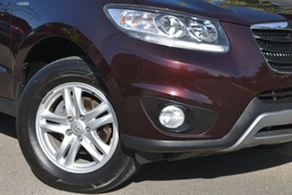2011 Hyundai Santa Fe CM MY11 Elite Maroon 6 Speed Sports Automatic Wagon