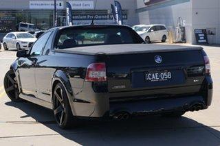 2015 Holden Ute VF II SS-V Redline Black 6 Speed Manual Utility.