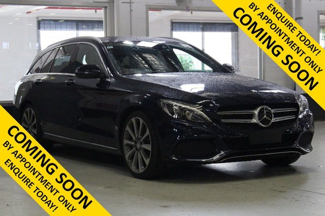 Used Mercedes-Benz C250 205 MY16 , 2015 Mercedes-Benz C250 205 MY16 Blue 7 Speed Automatic Wagon