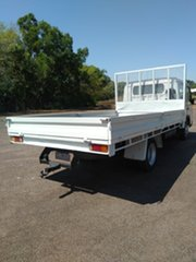 2010 Mitsubishi Fuso Canter FE MY08 FE85D 4.0 LWB White Crew Cab Chassis 4.9l 4x2