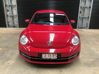 2013 Volkswagen Beetle Red 5 Speed Auto Active Select Sedan.