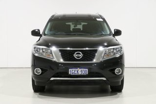 2016 Nissan Pathfinder R52 MY15 ST Hybrid (4x2) Black Continuous Variable Wagon.