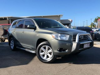 2009 Toyota Kluger GSU40R KX-R 2WD Grey 5 Speed Sports Automatic Wagon.