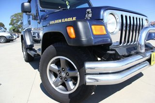 2006 Jeep Wrangler TJ Golden Eagle (4x4) Blue 6 Speed Manual Softtop.