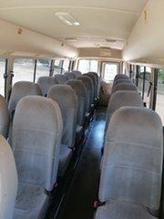 2004 Mitsubishi Fuso Rosa BE649 Base White Bus