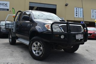 2008 Toyota Hilux KUN26R 08 Upgrade SR (4x4) Grey 5 Speed Manual X Cab Cab Chassis