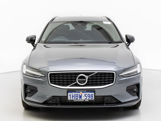 2019 Volvo V60 225 MY20 T5 R-Design Grey 8 Speed Automatic Wagon.
