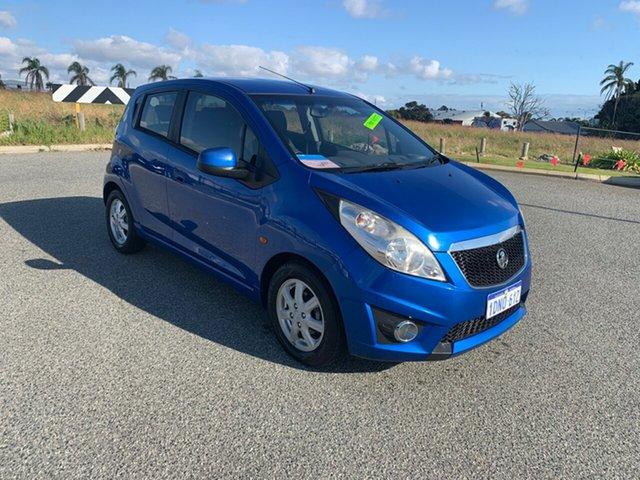 Used Holden Barina TK MY10 Wangara, 2010 Holden Barina TK MY10 Blue 5 Speed Manual Hatchback