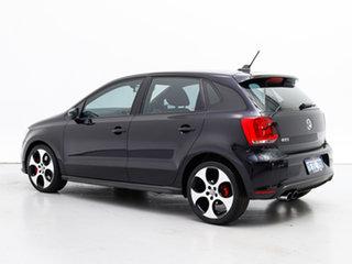 2013 Volkswagen Polo 6R MY13.5 GTi Black 7 Speed Auto Direct Shift Hatchback