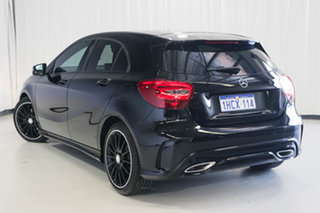 2016 Mercedes-Benz A-Class W176 806MY A180 D-CT Black 7 Speed Sports Automatic Dual Clutch Hatchback.