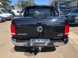 2019 Volkswagen Amarok 2H MY20 TDI550 4MOTION Perm Sportline Black 8 Speed Automatic Utility.