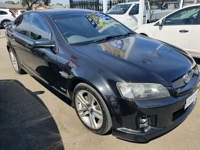 Used Holden Commodore VE MY09.5 SV6, 2009 Holden Commodore VE MY09.5 SV6 Black 5 Speed Sports Automatic Sedan