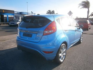 2010 Ford Fiesta WT Zetec PwrShift Blue 6 Speed Automatic Hatchback