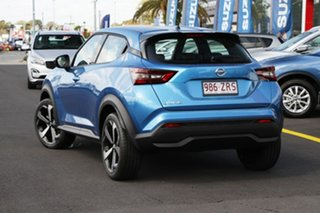 2020 Nissan Juke F16 ST-L DCT 2WD Vivid Blue 7 Speed Sports Automatic Dual Clutch Hatchback