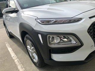 2020 Hyundai Kona OS.3 MY20 Active 2WD Chalk White 6 Speed Sports Automatic Wagon.