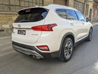 2020 Hyundai Santa Fe TM.2 MY20 Highlander White Cream 8 Speed Automatic Wagon