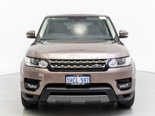 2016 Land Rover Range Rover LW MY16 Sport 3.0 TDV6 SE Kaikoura Stone 8 Speed Automatic Wagon.
