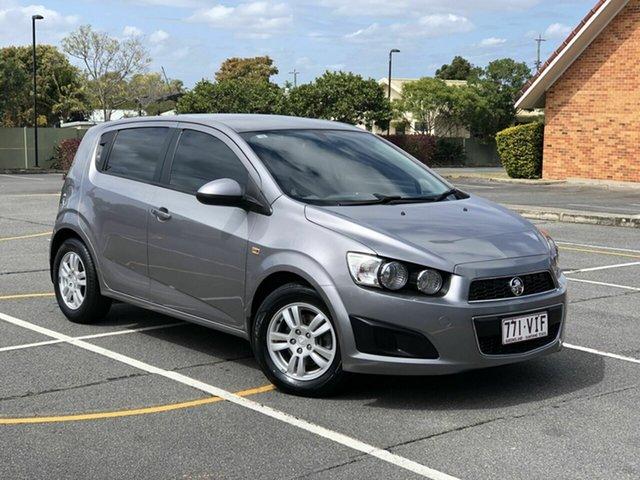 Used Holden Barina TM Chermside, 2011 Holden Barina TM Grey 6 Speed Automatic Hatchback