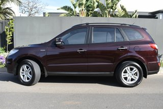 2011 Hyundai Santa Fe CM MY11 Elite Maroon 6 Speed Sports Automatic Wagon.
