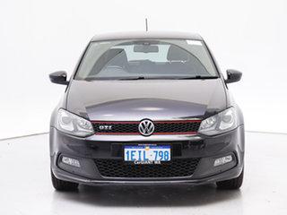 2013 Volkswagen Polo 6R MY13.5 GTi Black 7 Speed Auto Direct Shift Hatchback.