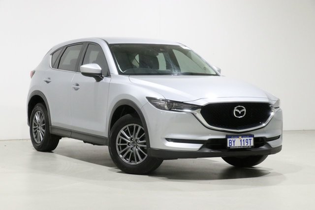 Used Mazda CX-5 MY17.5 (KF Series 2) Maxx Sport (4x4), 2017 Mazda CX-5 MY17.5 (KF Series 2) Maxx Sport (4x4) Silver 6 Speed Automatic Wagon