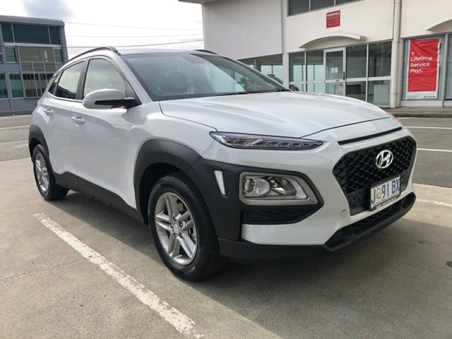 Demo Hyundai Kona OS.3 MY20 Active 2WD, 2020 Hyundai Kona OS.3 MY20 Active 2WD Chalk White 6 Speed Sports Automatic Wagon