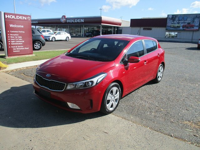 Used Kia Cerato YD MY18 S, 2018 Kia Cerato YD MY18 S Red 6 Speed Sports Automatic Hatchback