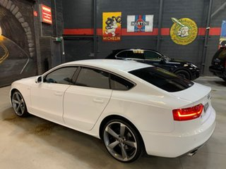 2013 Audi A5 8T MY14 Sportback Multitronic White 8 Speed Constant Variable Hatchback