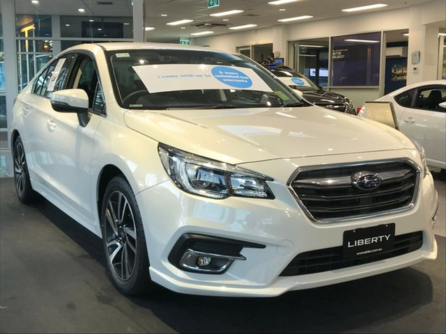 New Subaru Liberty B6 MY20 2.5i CVT AWD, 2020 Subaru Liberty B6 MY20 2.5i CVT AWD Crystal White 6 Speed Constant Variable Sedan