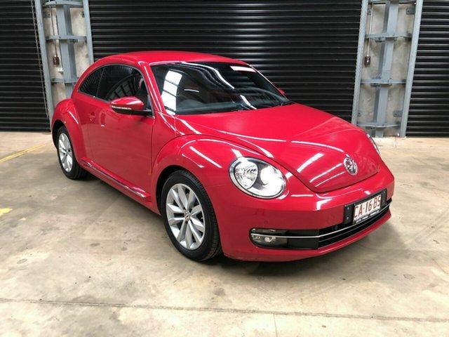 Used Volkswagen Beetle Winnellie, 2013 Volkswagen Beetle Red 5 Speed Auto Active Select Sedan