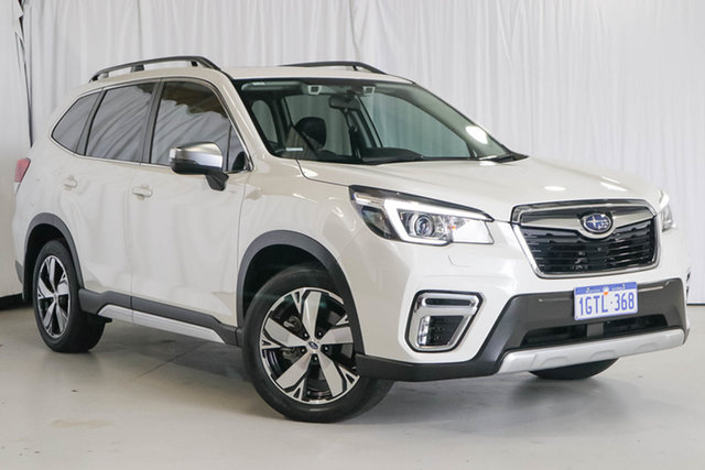Used Subaru Forester S5 MY20 2.5i-S CVT AWD, 2019 Subaru Forester S5 MY20 2.5i-S CVT AWD White 7 Speed Constant Variable Wagon