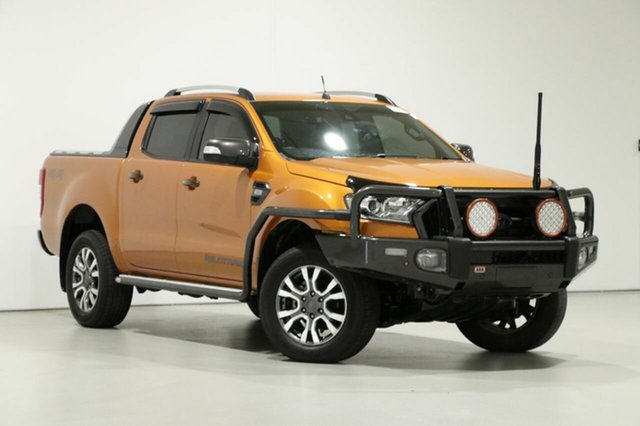 Used Ford Ranger PX MkII MY18 Wildtrak 3.2 (4x4), 2018 Ford Ranger PX MkII MY18 Wildtrak 3.2 (4x4) Gold 6 Speed Manual Dual Cab Pick-up