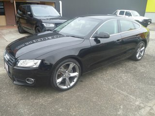 2011 Audi A5 8T MY11 Sportback Multitronic Black 8 Speed Constant Variable Hatchback