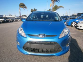 2010 Ford Fiesta WT Zetec PwrShift Blue 6 Speed Automatic Hatchback.