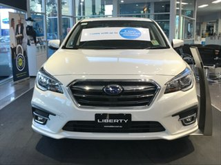 2020 Subaru Liberty B6 MY20 2.5i CVT AWD Crystal White 6 Speed Constant Variable Sedan.