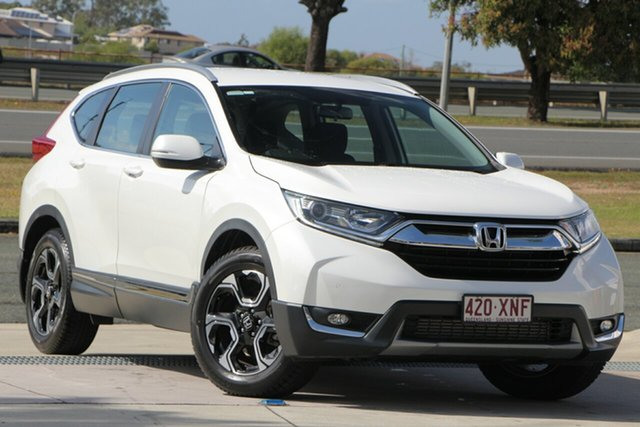 Used Honda CR-V RW MY18 VTi-S FWD, 2017 Honda CR-V RW MY18 VTi-S FWD White 1 Speed Constant Variable Wagon