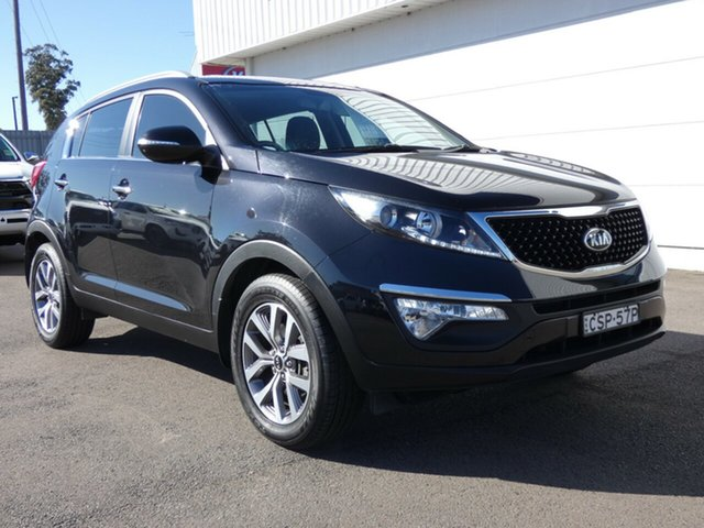 Used Kia Sportage SL MY14 Si 2WD Premium, 2014 Kia Sportage SL MY14 Si 2WD Premium Black 6 Speed Sports Automatic Wagon