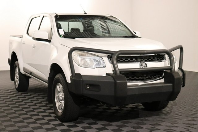 Used Holden Colorado RG MY15 LT Crew Cab Acacia Ridge, 2015 Holden Colorado RG MY15 LT Crew Cab White 6 speed Automatic Utility