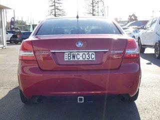 2011 Holden Berlina VE II Red 4 Speed Automatic Sedan