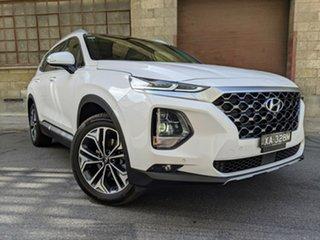 2020 Hyundai Santa Fe TM.2 MY20 Highlander White Cream 8 Speed Automatic Wagon.