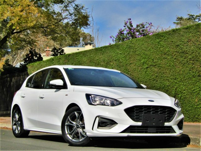 Used Ford Focus SA 2019.25MY ST-Line, 2019 Ford Focus SA 2019.25MY ST-Line White 8 Speed Automatic Hatchback