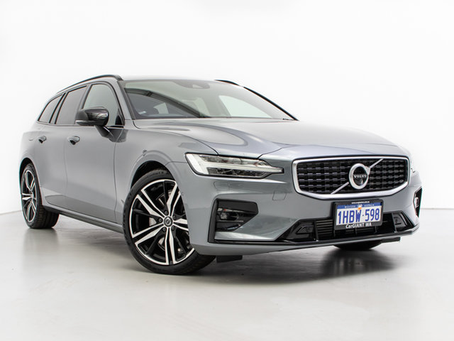 Used Volvo V60 225 MY20 T5 R-Design, 2019 Volvo V60 225 MY20 T5 R-Design Grey 8 Speed Automatic Wagon