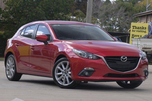 Used Mazda 3 BM5436 SP25 SKYACTIV-MT, 2016 Mazda 3 BM5436 SP25 SKYACTIV-MT Red 6 Speed Manual Hatchback