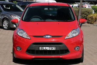 2009 Ford Fiesta WS CL Red 4 Speed Automatic Hatchback