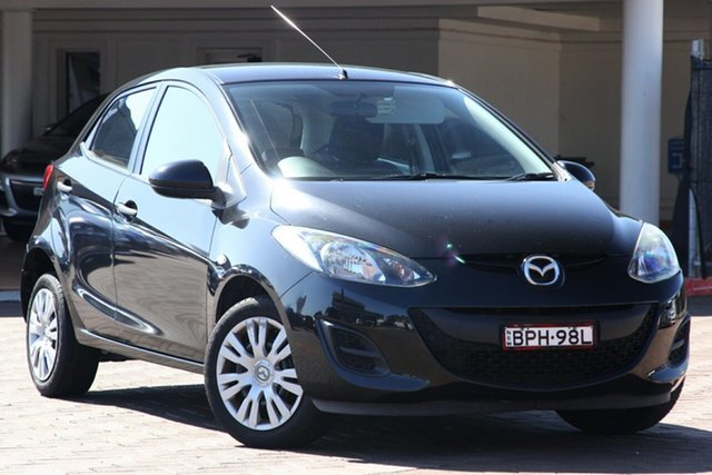 Used Mazda 2 DE10Y1 Neo, 2010 Mazda 2 DE10Y1 Neo Black 4 Speed Automatic Hatchback