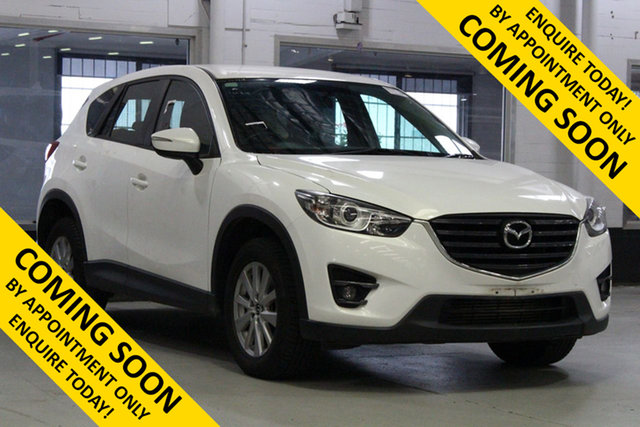 Used Mazda CX-5 MY15 Maxx Sport (4x4), 2016 Mazda CX-5 MY15 Maxx Sport (4x4) White 6 Speed Automatic Wagon
