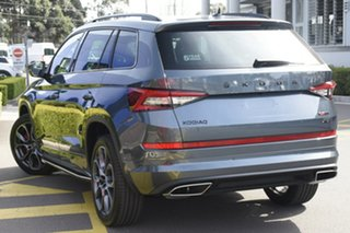 2020 Skoda Kodiaq NS MY20.5 RS Quartz Grey 7 Speed Sports Automatic Dual Clutch Wagon.