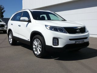 2012 Kia Sorento XM MY12 SLi White 6 Speed Sports Automatic Wagon